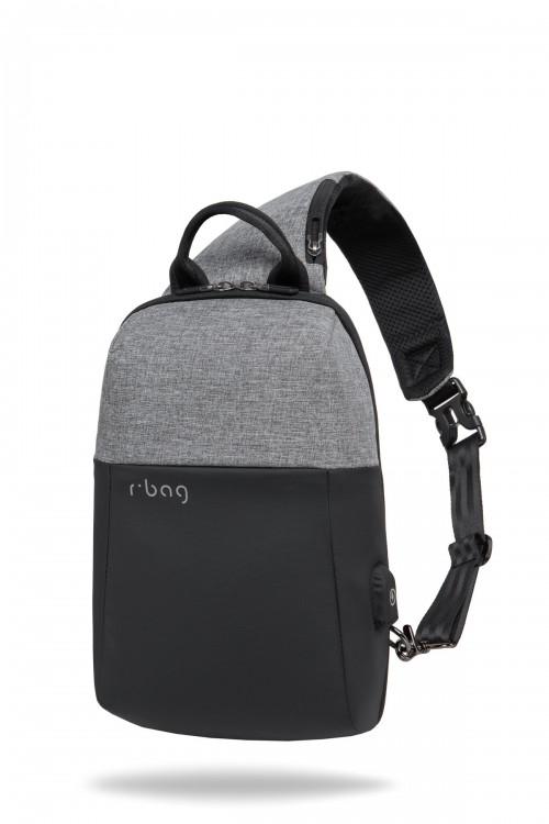 Plecak męski na tablet z USB Magnet Gray