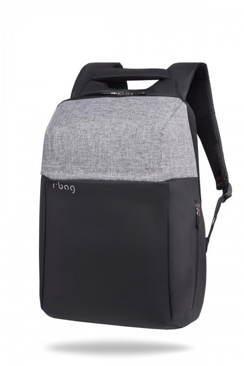 """Plecak męski na laptopa 13-15,6"""" z USB Fort Gray"""