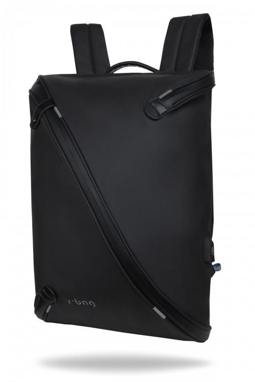 """Plecak męski na laptopa 13-15,6"""" z USB Acro Black"""
