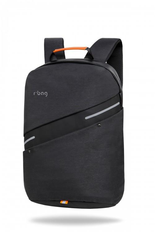"""Plecak męski na laptopa 13-15,6"""" z USB Bunker Black"""