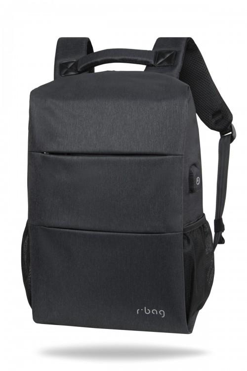 """Plecak męski na laptop 13-15,6"""" i tablet Range Black"""