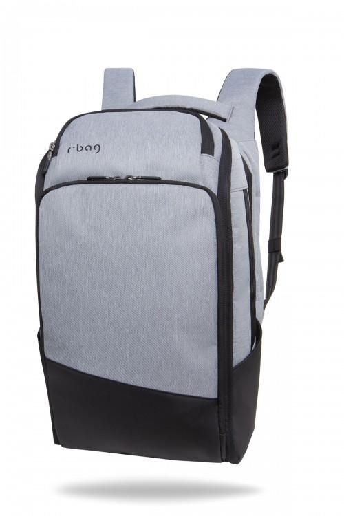 Plecak męski na laptopa 13-15,6'' z USB Forge Grey