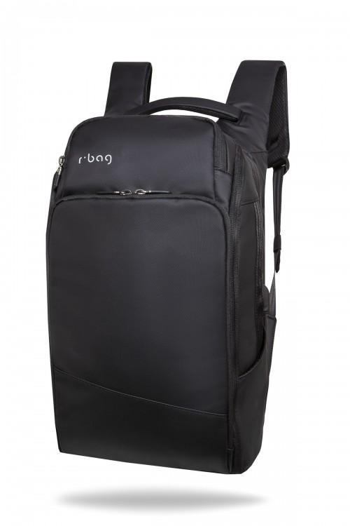 Plecak męski na laptopa 13-15,6'' z USB Forge Black